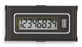 Electronic Counter, Counts per Second 1000, Number of Digits 8, Mount Style Panel, Length 2.05 Inches,