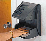 Biometric Reader Image