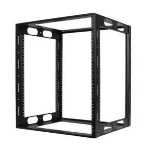 Credenza Rack Rugged welded rack for credenzas or cabinets, or stand-alone use. 16-gauge steel with 11-gauge corner post rails. Ships ready to i