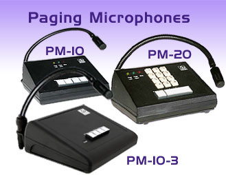 Paging Microphones - Add Paging to your Soundmasking System